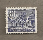 Stamps Germany -  Columnata en Kleistpark de Berlín