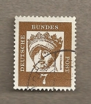 Stamps Germany -  Santa Isabel