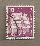 Stamps Germany -  Tren de cercanías