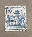 Stamps Germany -  Castillo en el agua de Mespelbrunn