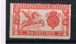 Stamps Europe - Spain -  Edifil  256   Correspondencia Urgente  U