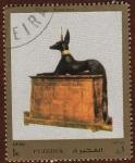 Stamps United Arab Emirates -  ANUBIS SHRINE
