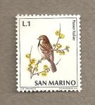 Sellos de Europa - San Marino -  Gorrión