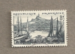 Stamps France -  Marsella