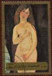 Stamps Asia - United Arab Emirates -  MODIGLIANI - VENUS (1918)