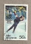 Sellos de Asia - Corea del norte -  Juegos Olímpicos de Invierno