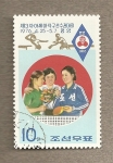 Sellos de Asia - Corea del norte -  3er campeonato asiático de ping pong