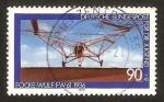 Stamps Germany -  853 - Helicóptero Focke Wulf FW 61, 1936