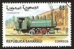 Sellos del Mundo : Africa : Marruecos : locomotora