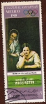 Stamps Yemen -  CULTURAL - OLYMPIAD. MEXICO 1968
