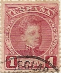 Stamps of the world : Spain :  Alfonso XIII. Cadete.