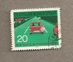 Stamps Germany -  Nueva reglamentación de tráfico