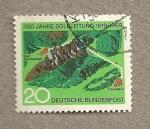 Stamps Germany -  350 Aniv. de la conducción de disolució de sal