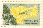Stamps Africa - Gabon -  Cassia