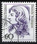 Sellos del Mundo : Europa : Alemania : Mujeres famosas. Dorothea Erxleben.