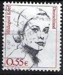 Sellos del Mundo : Europa : Alemania : Mujeres famosas. Hildegard Knef.