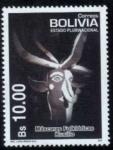 Stamps America - Bolivia -  Mascaras Folkloricas