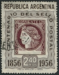 Stamps of the world : Argentina :  Centenario del sello postal