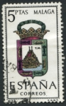 Stamps : Europe : Spain :  Escudo Malaga