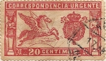 Stamps of the world : Spain :  PEGASO
