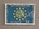 Stamps Switzerland -  Conservación de la naturalez