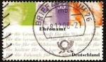Stamps Germany -  ehrenamt