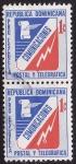 Sellos del Mundo : America : Rep_Dominicana :  Pro Escuela Postal y Telegráfica Comunicaciones