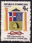 Stamps America - Dominican Republic -  125 Aniversario de la Masonería Dominicana