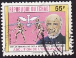 Sellos de Africa - Chad -  Abolition de L'Esclavage
