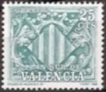 Stamps Spain -  España Valencia 1981 Ed.11 Sello Nuevo Escudo de Valencia 25cts