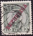 Stamps Cape Verde -  Rey Manuel II de Portugal