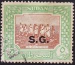 Sellos del Mundo : Africa : Sudán : Saluka Farming / Sembradoras