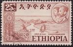 Stamps Africa - Ethiopia -  Haile Selassie I Emperador de Etiopía