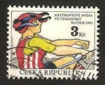 Stamps Europe - Czech Republic -  piraguismo