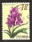 Stamps Asia - Taiwan -  flora, vanda, x hybrida