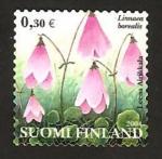 Stamps Finland -  flora, linnaea borealis