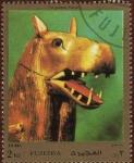 Stamps United Arab Emirates -  THE GODDESS THAUERIS