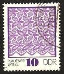 Stamps Germany -  1644 - Tapiz de Plauen
