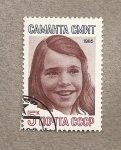 Stamps Russia -  Samantha Smith, estudiante americana