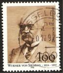 Stamps Germany -  werner von siemens, ingeniero e industrial