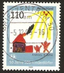Sellos de Europa - Alemania -  1894 - 50 Anivº de Aldeas Infantiles S.O.S.