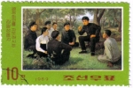 Stamps North Korea -  La revolucion de Kim il Sung