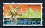 Stamps Europe - Spain -  protege la flora-edelweiss del pirineo