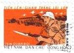 Stamps Asia - Vietnam -  Guerra de Vietnam