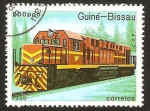 Stamps : Africa : Guinea_Bissau :  locomotora