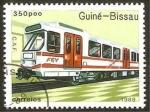 Stamps : Africa : Guinea_Bissau :  locomotora c.a.f.