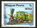 Sellos de Europa - Hungría -  tren pionner