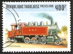Stamps : Africa : Togo :  locomotora
