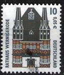 Sellos del Mundo : Europa : Alemania : Rathaus Wernigerode.