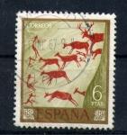 Sellos de Europa - España -  cueva de los caballos-castellon